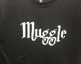 Harry Potter inspired Muggle shirt