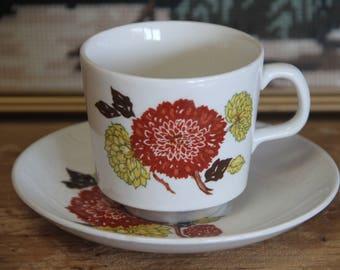 Gorgeous Vintage Johnson of Australia teacup/saucer