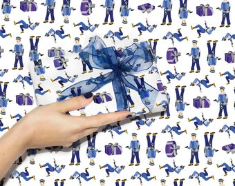 Gift wrap for a naughty gift
