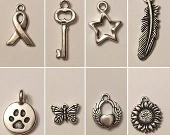 Necklace Charms - more colors