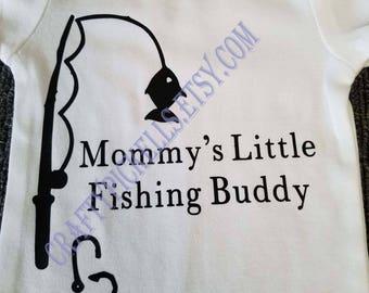 Mommy's Fishing Buddy Onesie