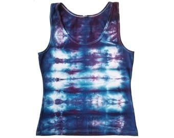 Ocean Ripples Tank Top - Sz Large