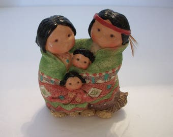 """Enesco Friends of the Feather """"People of One Feather Figurine"""", Friends of the Feather, Enesco Collectibles"""