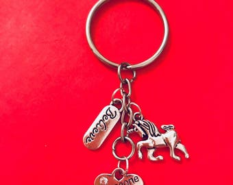Unicorn Magical Keyring