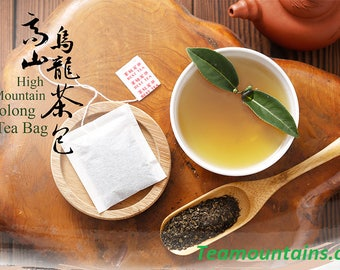 Teamountains- The Champion of Taiwan Oolong Tea, Tea Bags from 2000Meters High Mountains