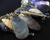 Bracelet ~  Naked and pure, Sea Shell Charms. Artist: Teresa Bradford-Cole
