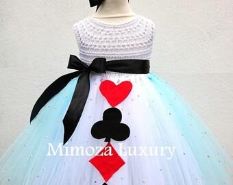 SALE Alice in Wonderland Princess tutu dress, Alice costume, Alice outfit, Alice in wonderland dress, Fairy tale princess tutu dress, tea pa