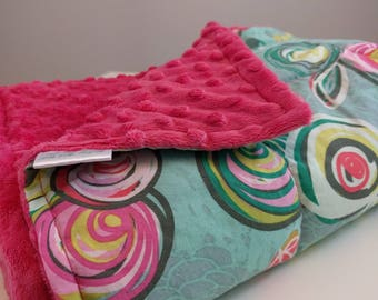 Weighted Blankets - Child, Kid, or Toddler Sizes - Roses - Soft Cotton - Breathable Weighted Blanket - Floral - Nature - Femenine - Minky