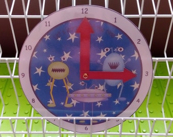 Learn to tell the time clock (Alien)