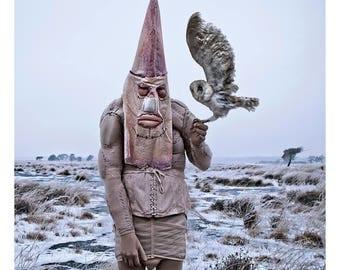surrealistic artwork/postcard Bergrin no. 002