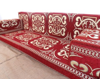 Nice Arabic Style Majlis Floor Sofa Set, Floor Couch, Oriental Floor Seating, Floor  Seating