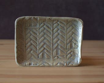 Handmade, Porcelain Platter | Treesy Platter