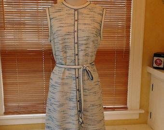 1960's Knit Day Dress