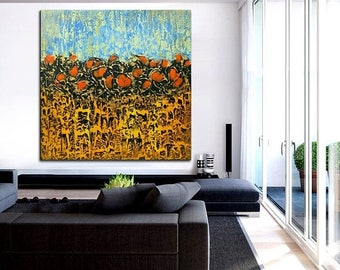 ON SALE Modern art painting wall canvas decor abstract art original Innovative prototype painting one of a kind artwork  free shipping