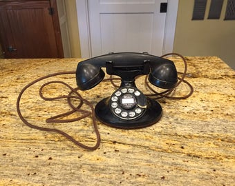 Vintage Bell System Telephone Cradle D1 202 Ready to Use