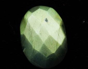 50% OFF -  Chakra Cut Labradorite Oval Cut Gemstone  19x13x5 mm mm Labradorite Flashy Stone (T-6)