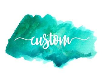 Custom - Made to match Facebook cover