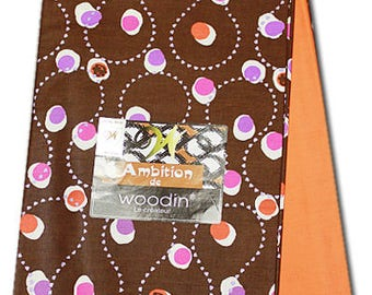 Two Peice Woodin Wax Print /African Ankara Print Fabrics For Dresses and Craft Making/Sewing Materials/Bold, Bright  Colour