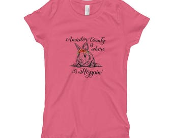 Hoppin' - Girl's T-Shirt