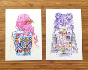 Local Girl Art prints