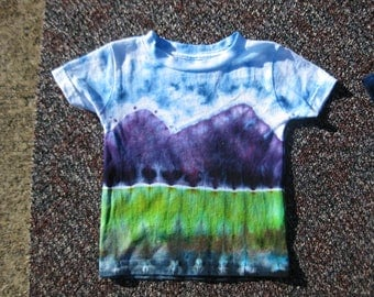 tie dye baby shirt, 18 months, baby shower, baby shirt