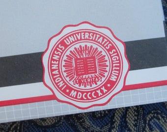 lot of 10 vintage Indiana University envelopes