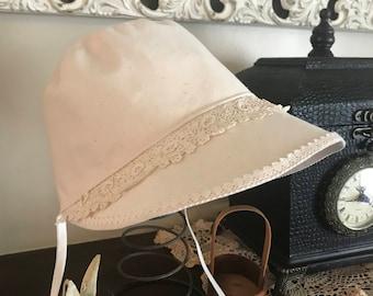 Lacy Easter bonnet