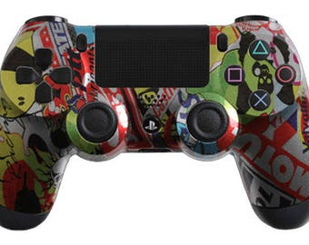 Custom PS4 Controller - Sticker Bomb Options