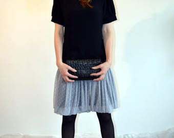 skirt grey , winter and summer