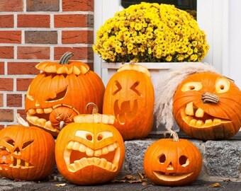 Original plastic placemat Halloween Pumpkin