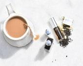 TEA SEASON | SAMPLE The London Fog | Botanical Perfume | Black Tea, Bergamot, Aglaia, Honey, Jasmine, Vanilla, Oak, Vetiver. 1/2 ml