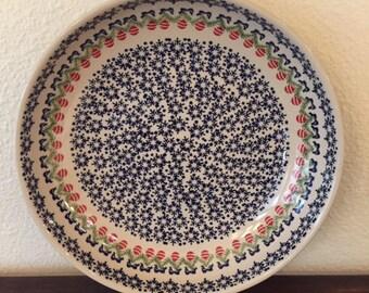 Polish Pottery Large Serving Bowl / Platter