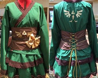 Link/Legend of Zelda kimono Deluxe