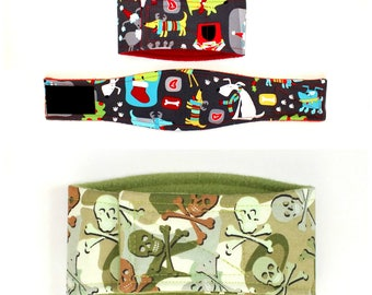 XXLARGE Male Dog Belly Band, dog diaper, belly bands by trina, dog wrap