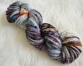 Rebel, Bulky Weight Yarn, Hand Dyed Yarn( 50 percent Superwash Merino Wool, 50 percent Nylon)