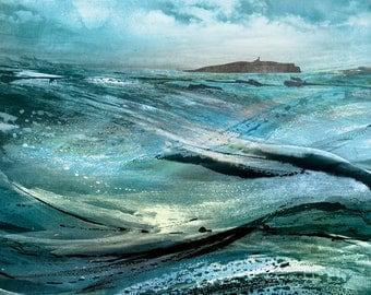 print: Stormy May Isle