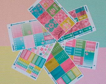 Planner Stickers - Spring