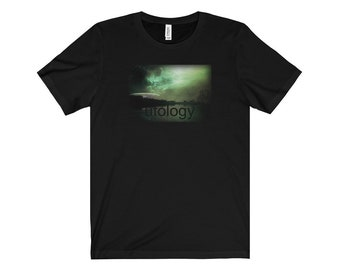 Ufology Shirt UFO X-Files Alien Sci-Fi Extra-Terrestrial Fans Flying Saucer Tee