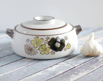 Vintage Japanese Katsudon Donburi Bowl with Lid