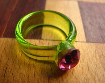 3721 - Ring - Murano glass