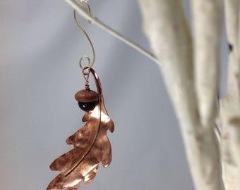 Oak leaf and acorn ornament