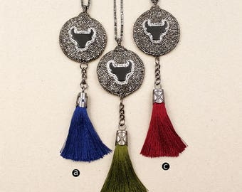 WT-NV145 Fantastic Necklace With Beautiful Dangle Tassel Necklace For Women Dress Necklace