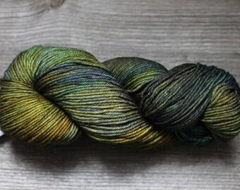 Merino wool yarn Malabrigo RIOS yarn Worsted merino wool Super Soft and Washable merino wool Hand dyed yarn Malabrigo Rios #880 HOJAS