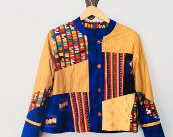 Patchwork Quilted Jacket