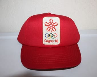 Vintage 1988 Winter Olympics Calgary Snapback by International Ingsinia
