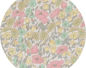 Fabric Liberty Poppy and Daisy or Pastel