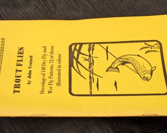Fishing Books; Trout Flies and how to Tie them.