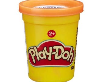 Jar of Play Doh - Orange