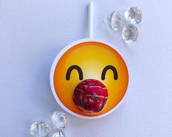 Emoji lollipop holders