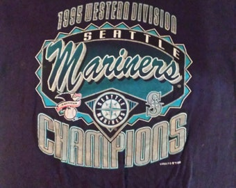 SEATTLE MARINERS 1995 division champs shirt